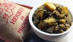 Herbed Acorn Squash & Quinoa Risotto