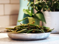 Cold Marinated String Beans & Scapes