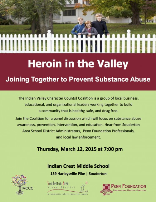 Heroin in the Valley - Joining Together to Prevent Substance Abuse